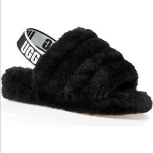 UGG Shoes - Ugg Fluff Yeah Genuine Shearling  fur slippers